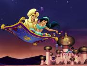 Sur la tapis volant avec Jasmine