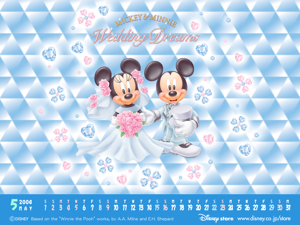 Fond D Ecran Mariage Mickey Minnie Wallpaper