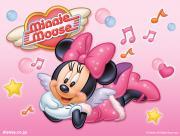 Minnie en rose