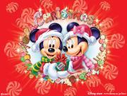 Noel Mickey et Minnie