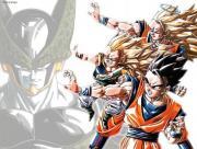 Super Guerriers contre Cell