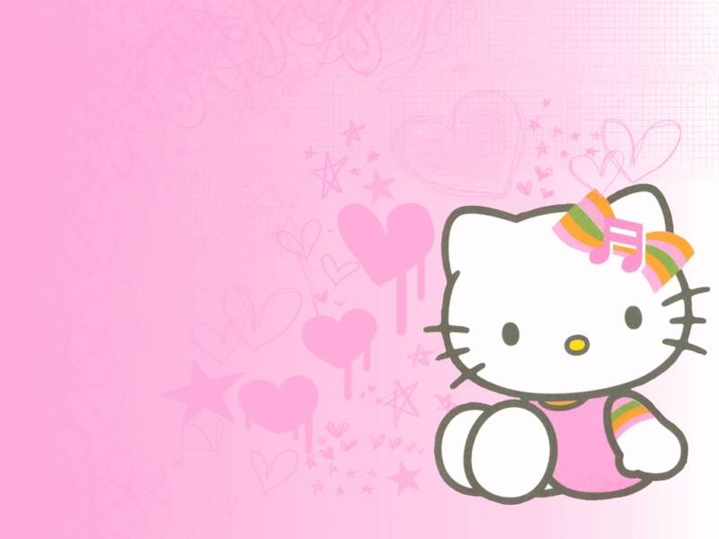 Wallpapers de hello kitty