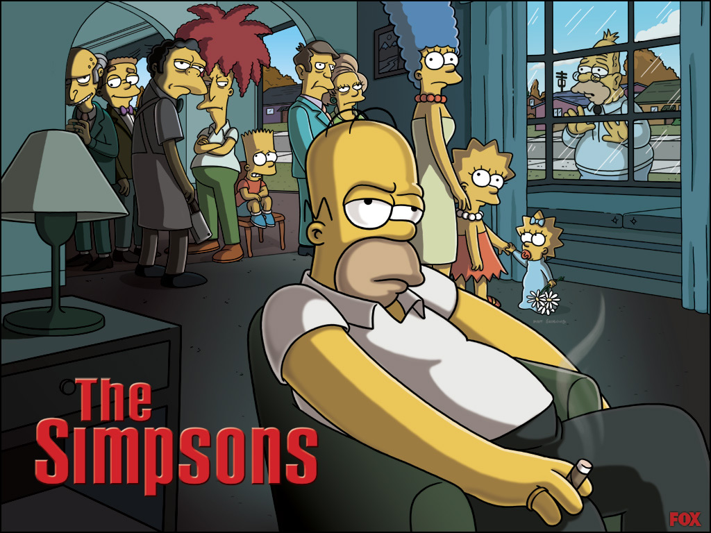 Fond d 39 ecran les simpson photo 401 wallpaper - Les simspon tv ...