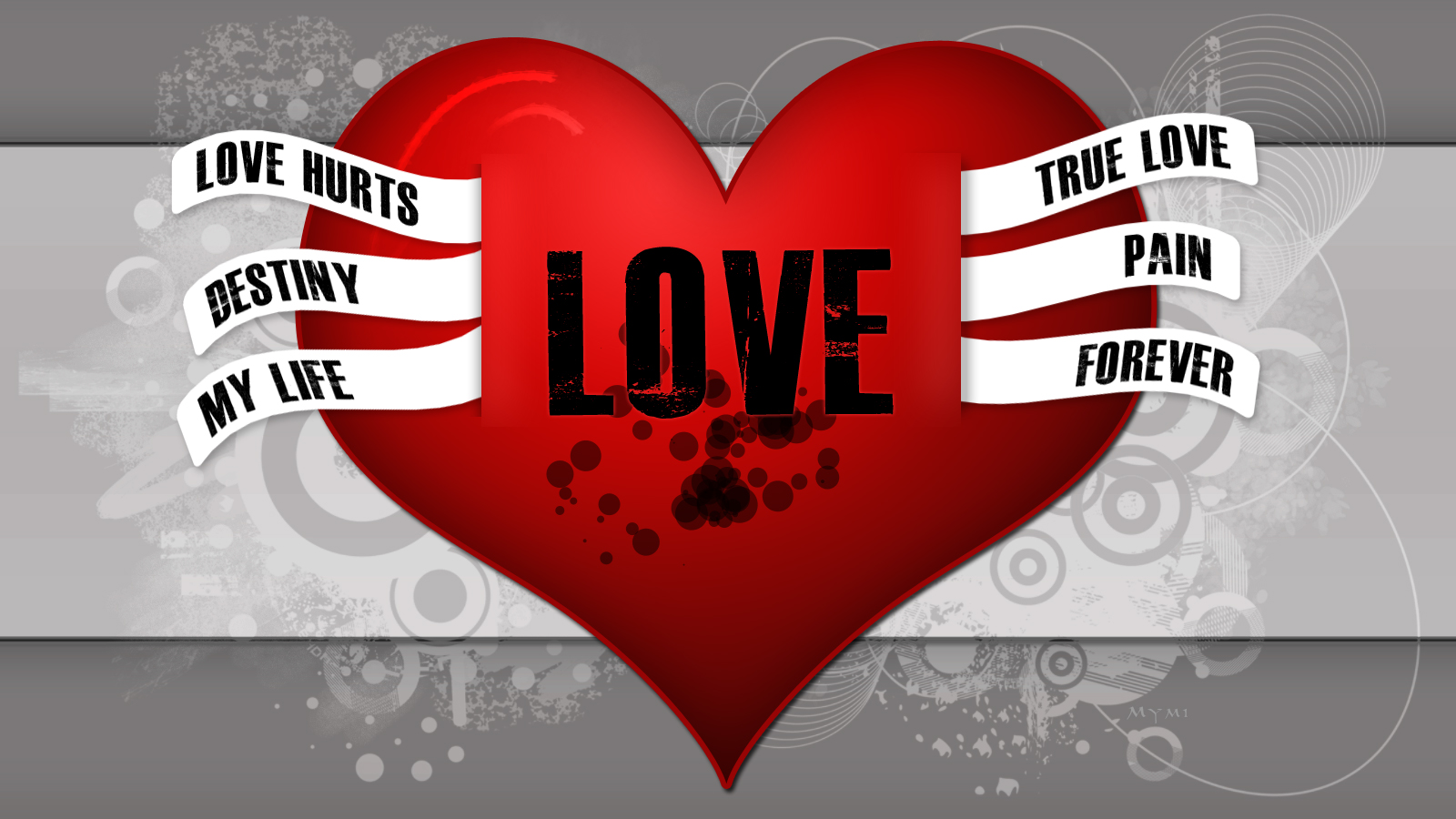 Fond d'ecran True Love - Wallpaper