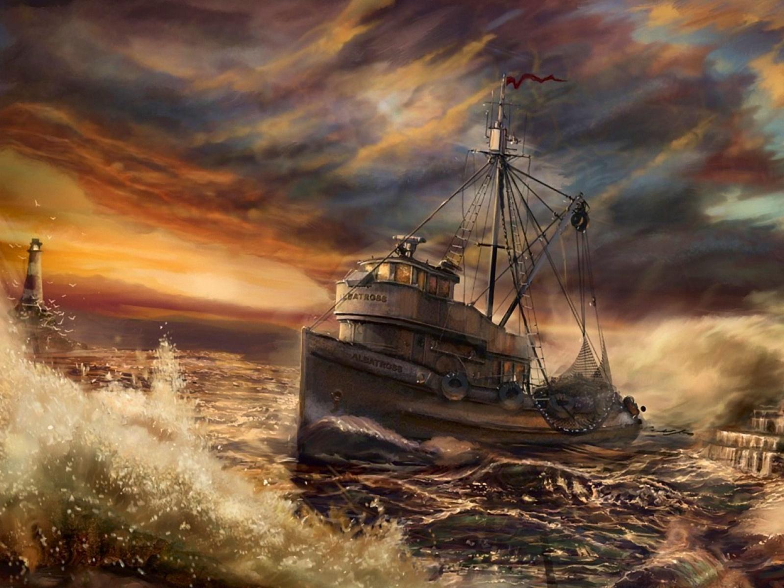 comment pecher sur un bateau