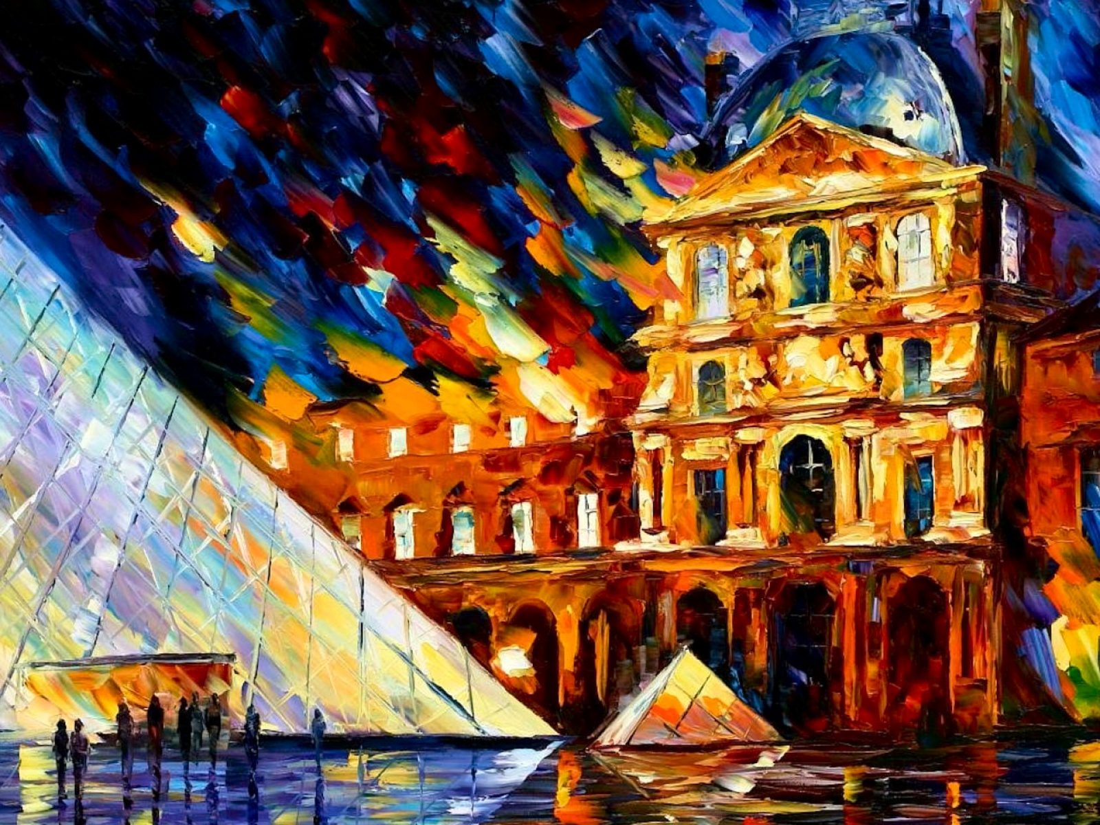 Fond D Ecran Peinture Du Louvre Wallpaper