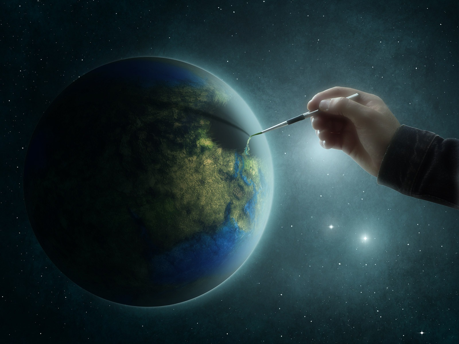 comment dessiner la terre