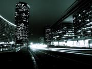 Dans la ville moderne