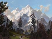 Forteresse dans les montagnes