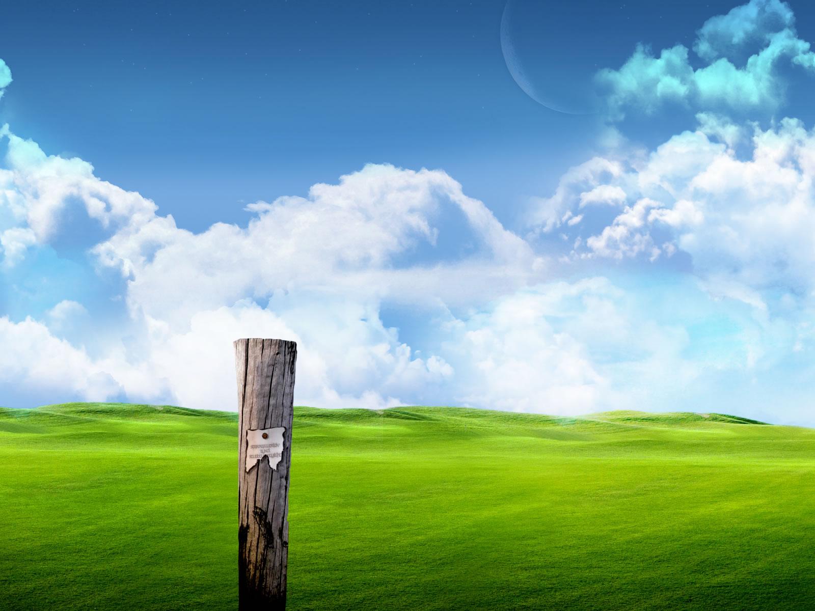 Scenery wallpaper fond d 39 cran paysage virtuel for Design paysage