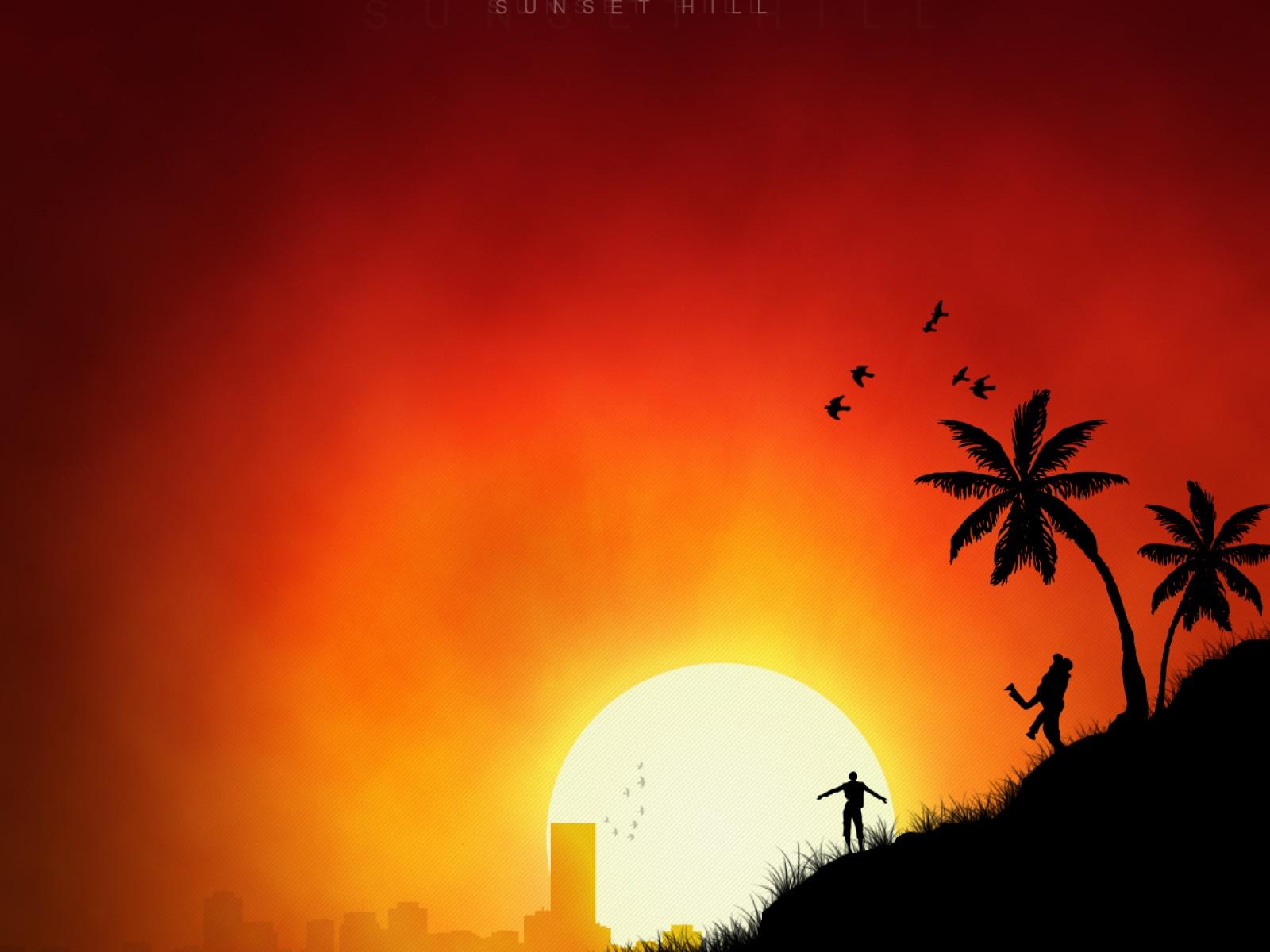 Fond d 39 ecran sun rise wallpaper for Ecran photo sun
