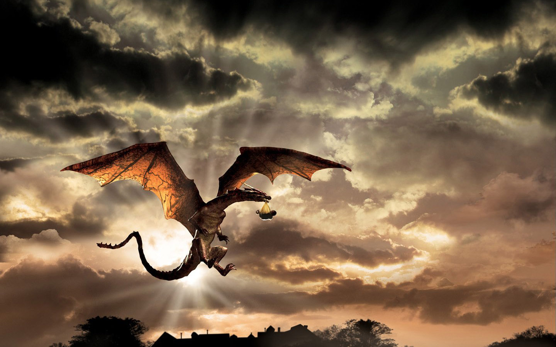 Fond Decran Dragon Apporte Bébé Wallpaper