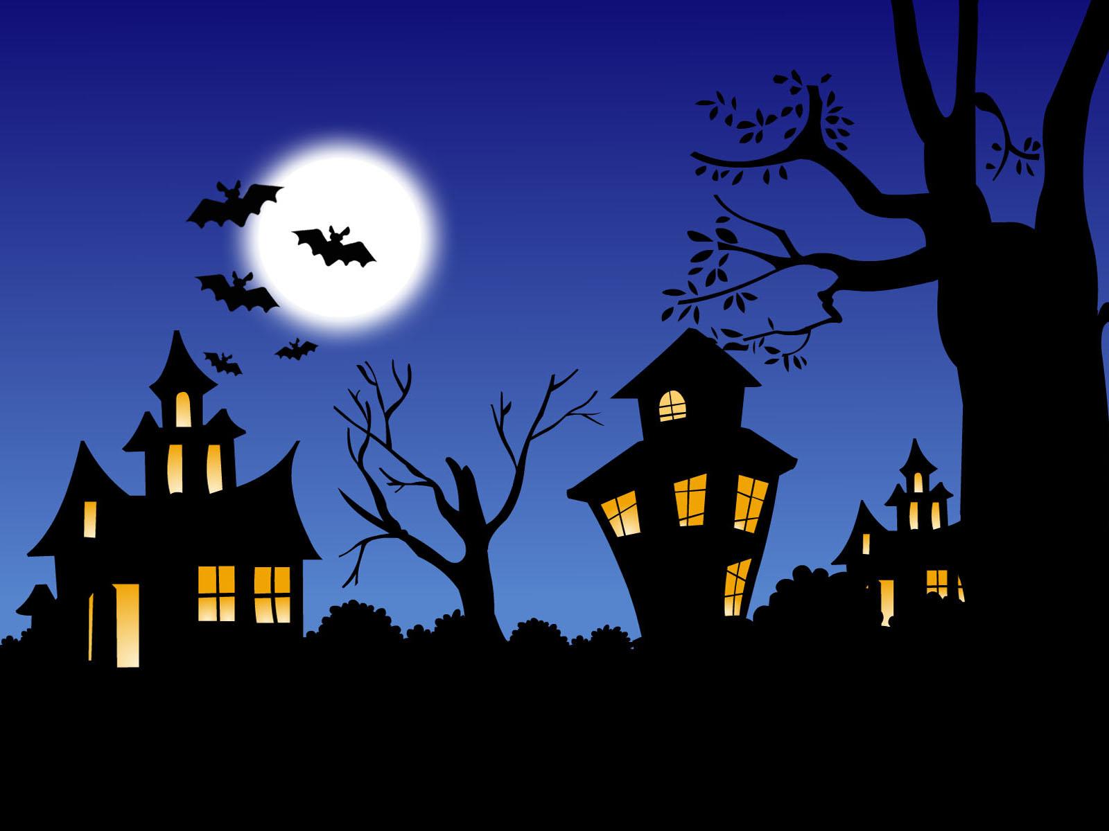 Fond d'ecran Nuit d'Halloween - Wallpaper