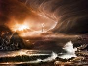 Enfer fantastique Chateau et Ange