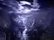 Royaume des ténèbres falaises