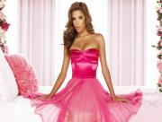 Eva Longoria robe rose