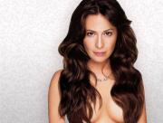 Longs cheveux de Holly Marie Combs