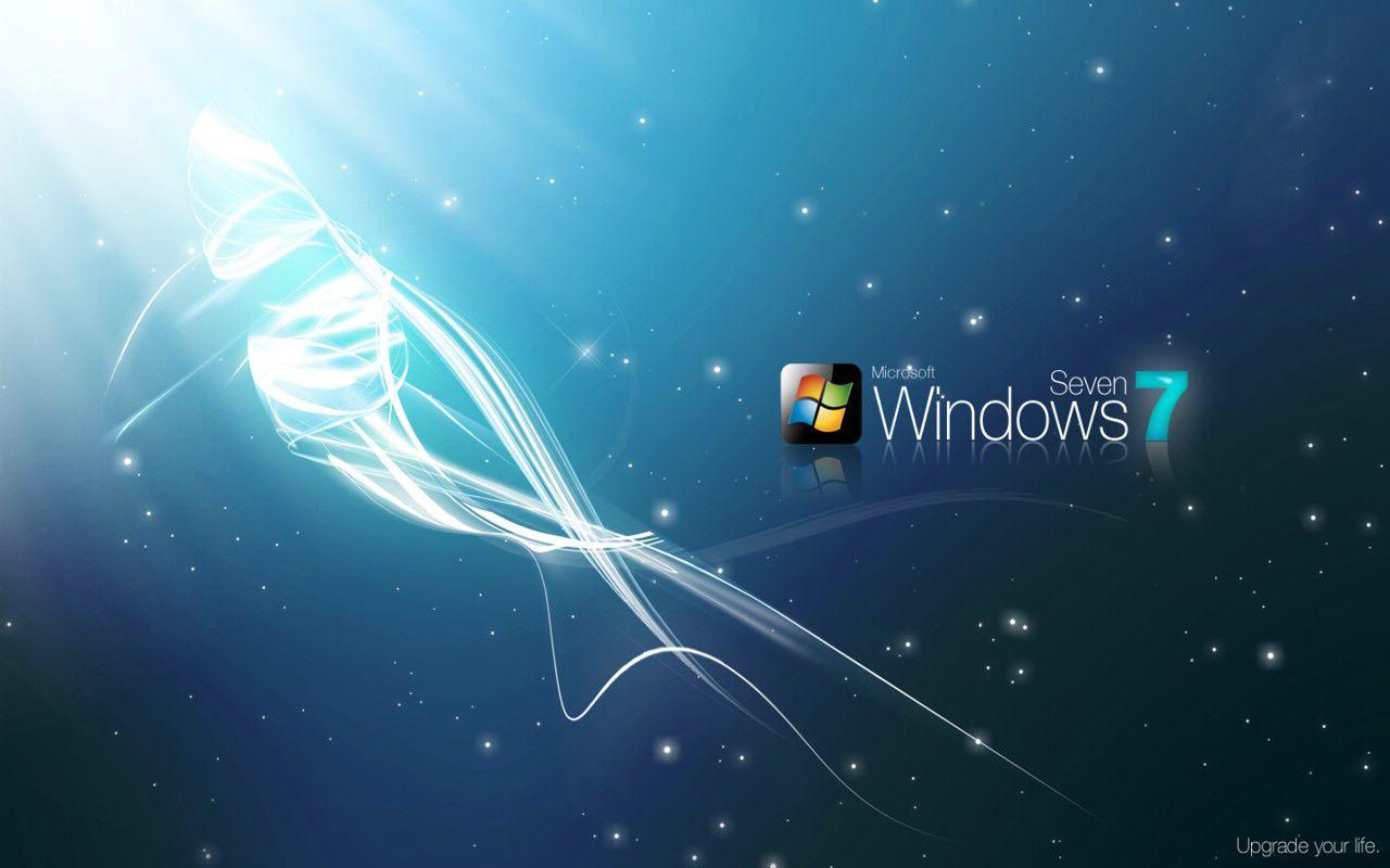 Fond d 39 ecran nouveau windows 7 wallpaper for Bureau virtuel windows 7
