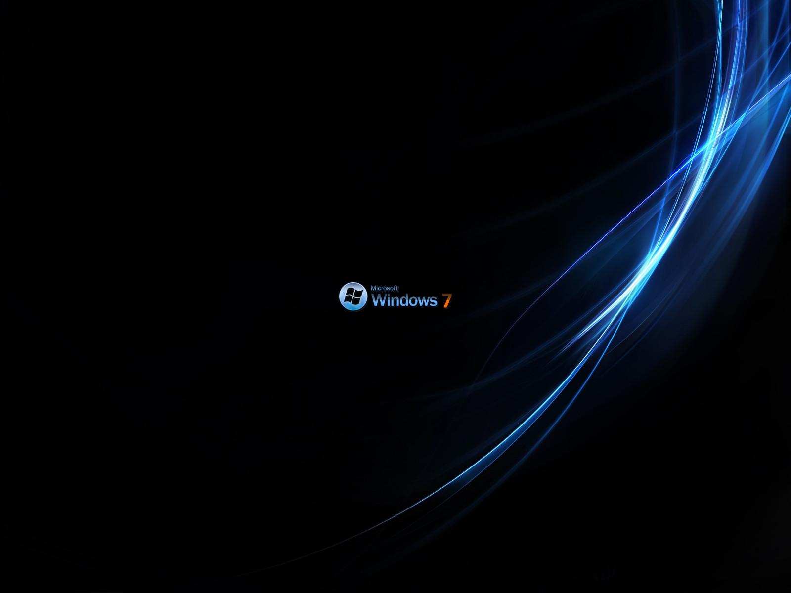 Fond d'ecran Windows 7 vagues - Wallpaper