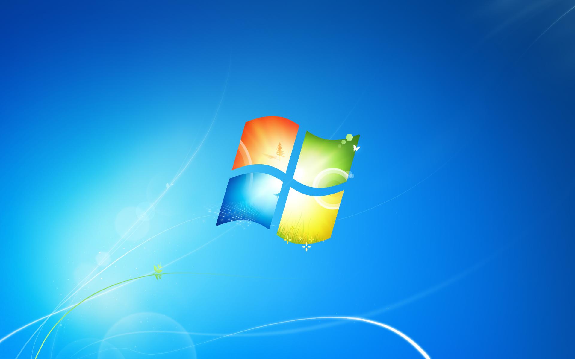 Fond d 39 ecran windows 7 couleurs wallpaper for Bureau virtuel windows 7