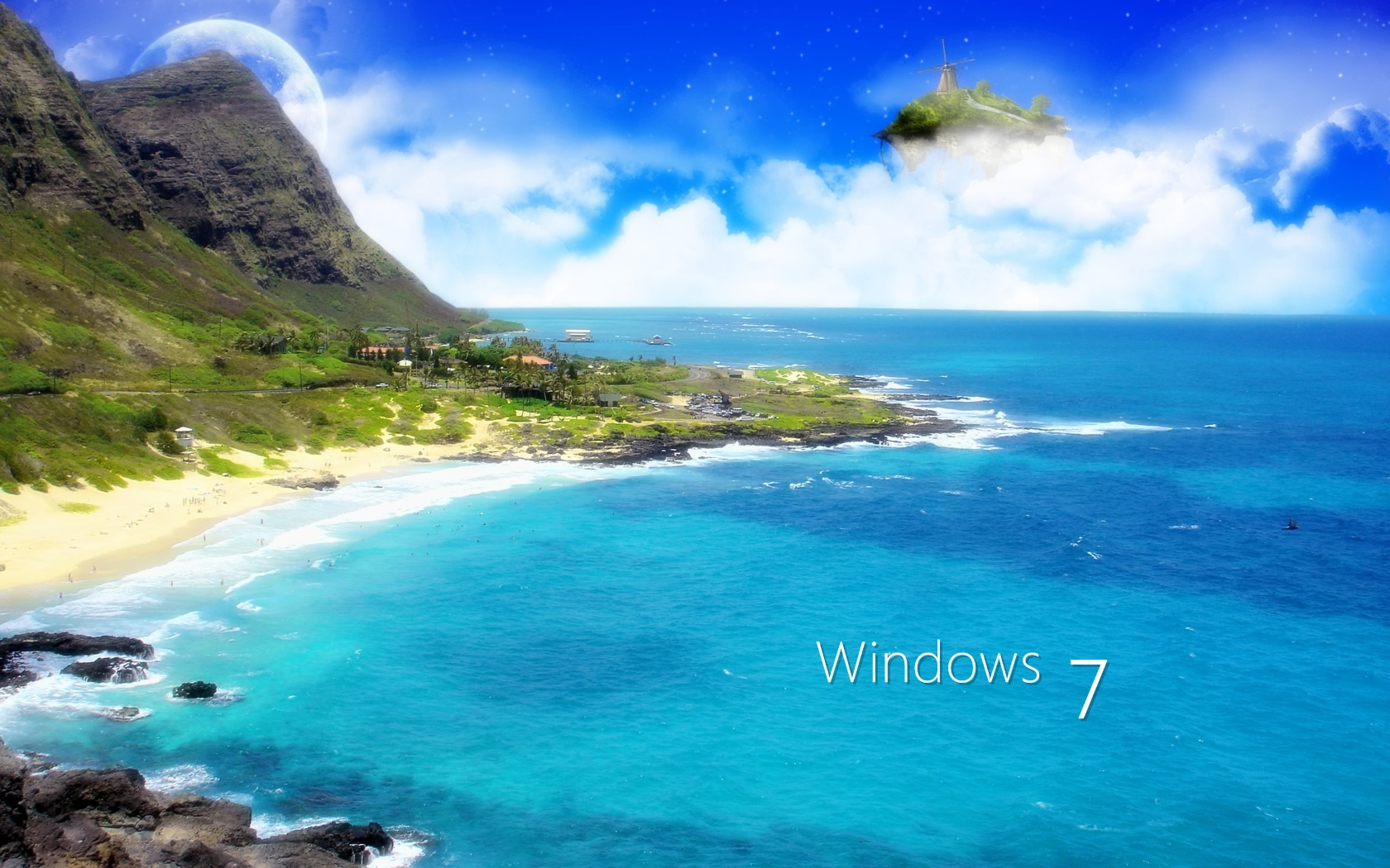 Scenery wallpaper fond d 39 cran paysage windows 7 for Fond wallpaper