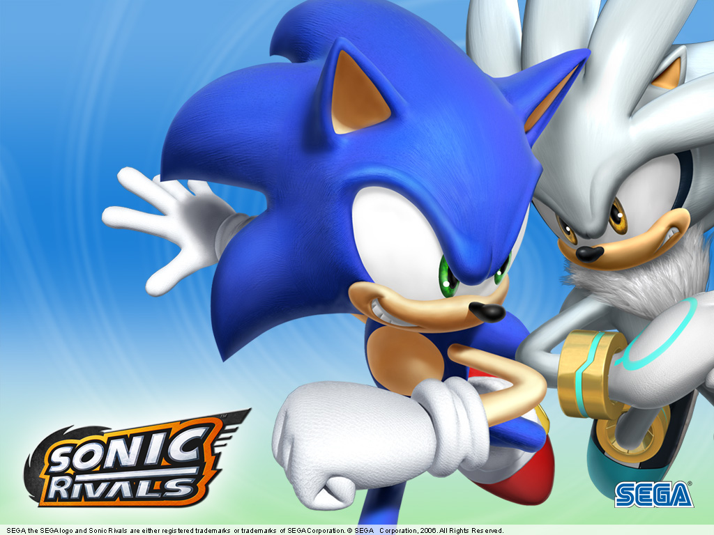 Fond d 39 ecran sonic rivals wallpaper - Jeux de sonic vs shadow ...
