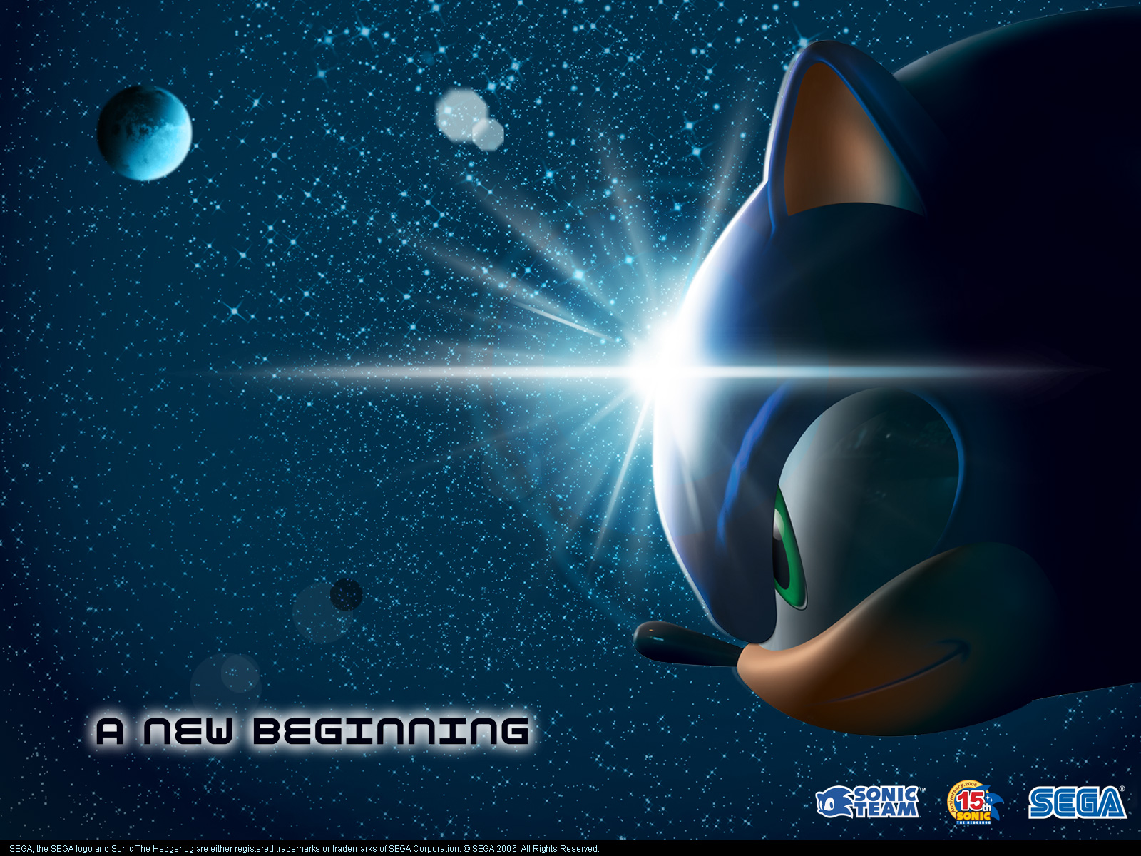 Fond d'ecran Sonic Beginning - Wallpaper