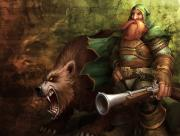World of Warcraft Nain et Ours