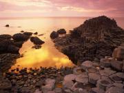 Couch� de soleil en Irlande du Nord