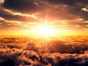 Soleil au loin