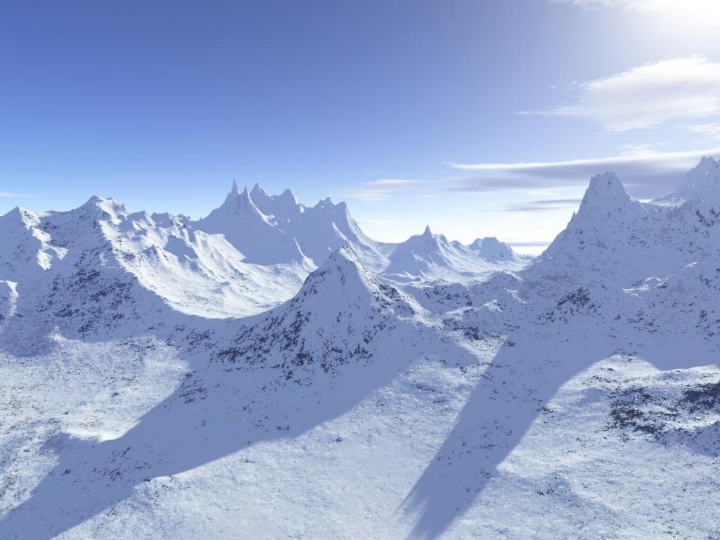 Fond d 39 ecran montagnes enneig es wallpaper for Fond ecran montagne