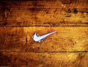 Nike sur bois