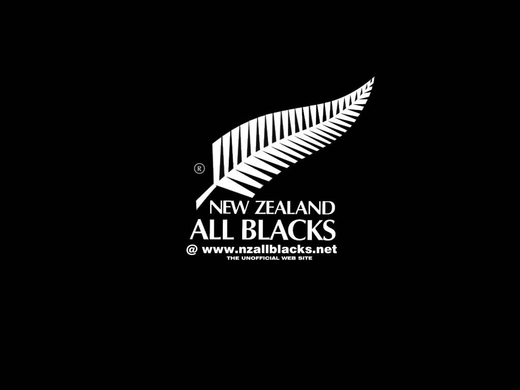Fond D Ecran All Blacks Logo Wallpaper