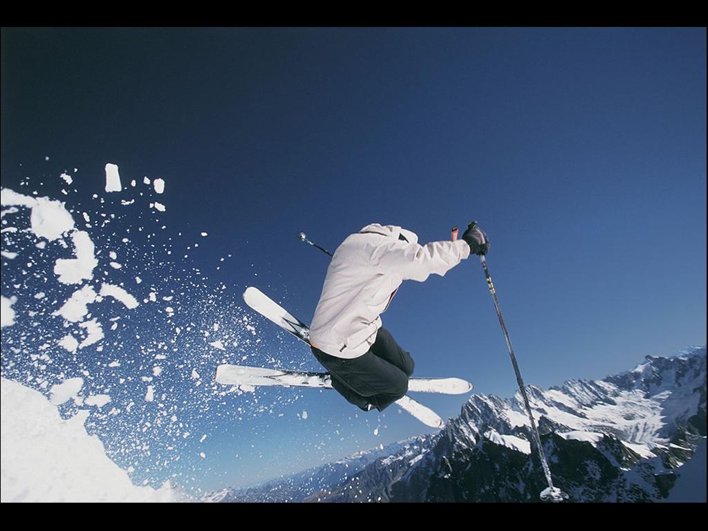 Fond D Ecran Saut En Ski Wallpaper