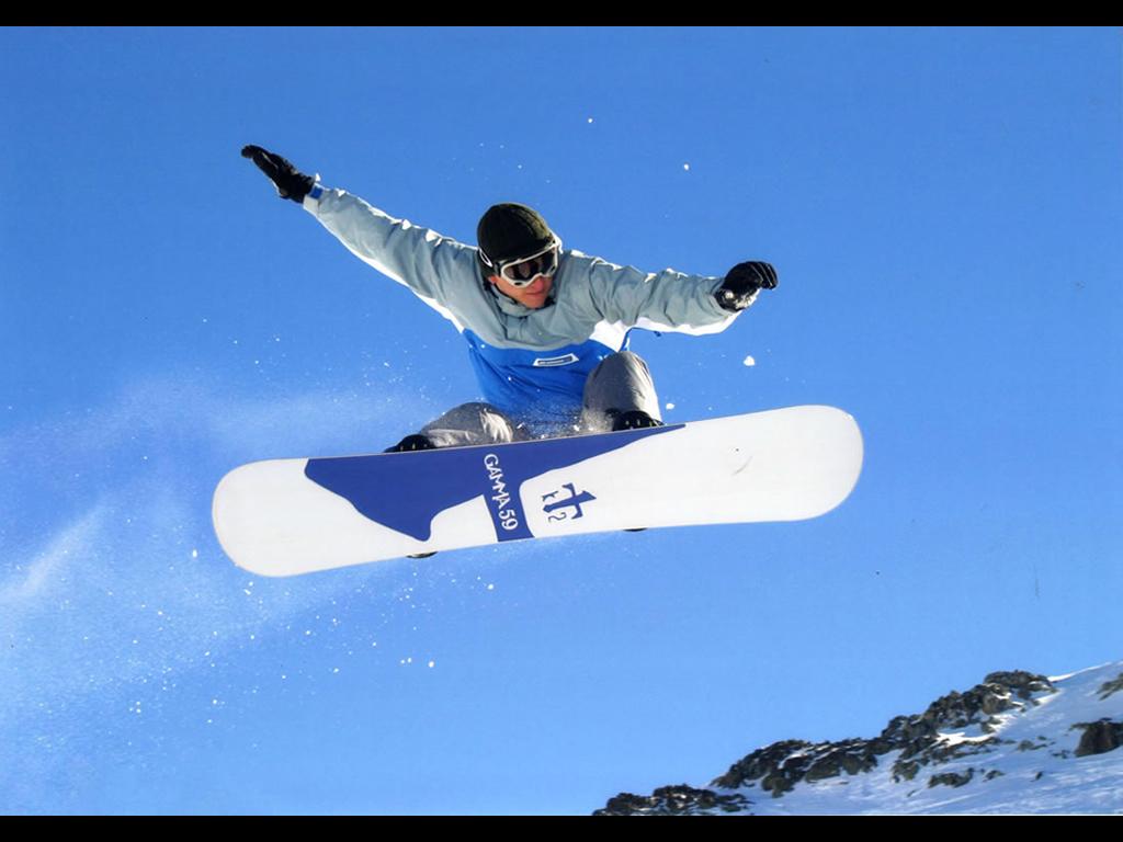 Fond D Ecran Snowboard Photographie 884 Wallpaper