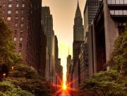 Couché de soleil rue de N-Y
