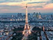 Tour Eiffel et la Defense
