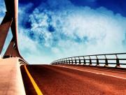 Route sur pont