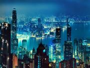 Baie ville moderne asiatique